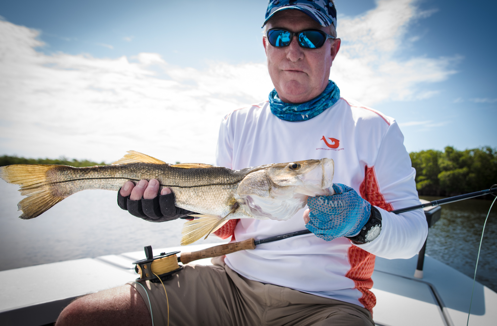 Martin From Oklahoma With His First Ever Snook That He Sight Fished Along A Few More